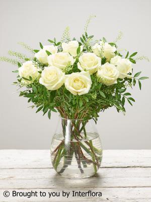 Sympathy Rose Vase