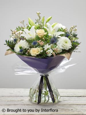 Large Pure Condolence Hand-tied